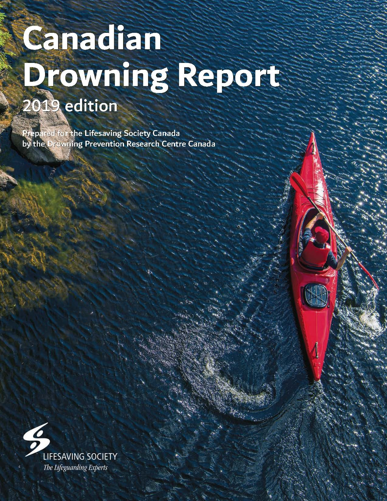 Canadian Drowning Report 2019 cover art